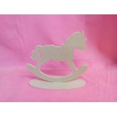 4mm MDF Rocking horse on a base
